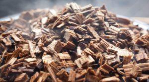 madeira para defumação
