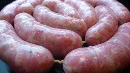 linguiça caseira de pernil com pimenta jalapenho