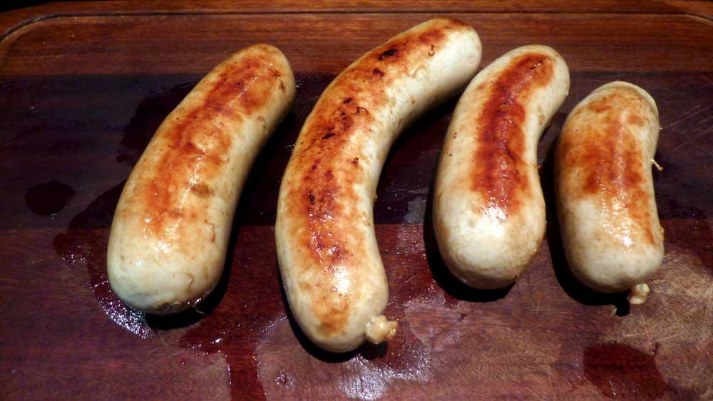 salsicha natural bratwurst