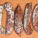 mold parcial no salame