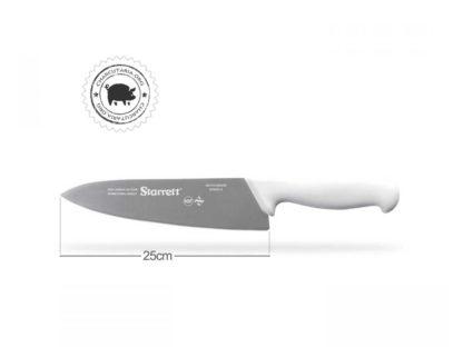 """faca chef refile 25cm 10"""" starret bkw301-10"""