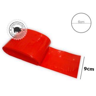 tripa nylon plastica poliamidas 9 vermelha