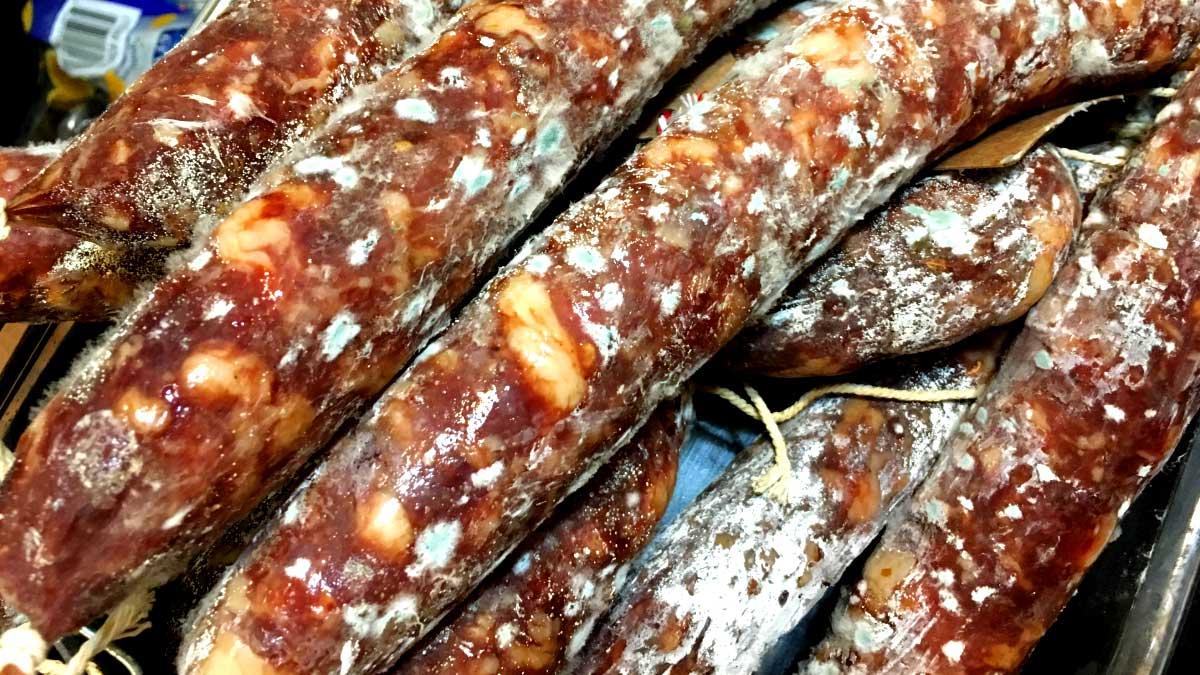 mofo salame mold penicillium sorbato charcutaria