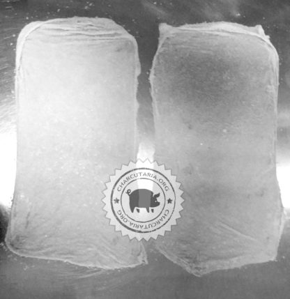 pele de fundo tripa bovina