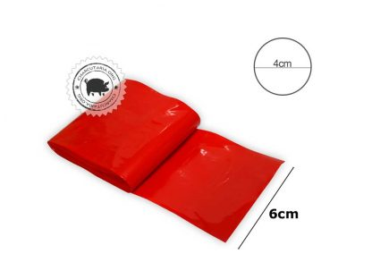 tripa nylon plastica poliamida 6 vermelha